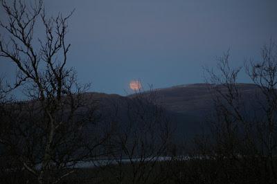 Månuppgång Ottfjället