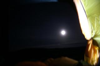 natt, tält, fjäll